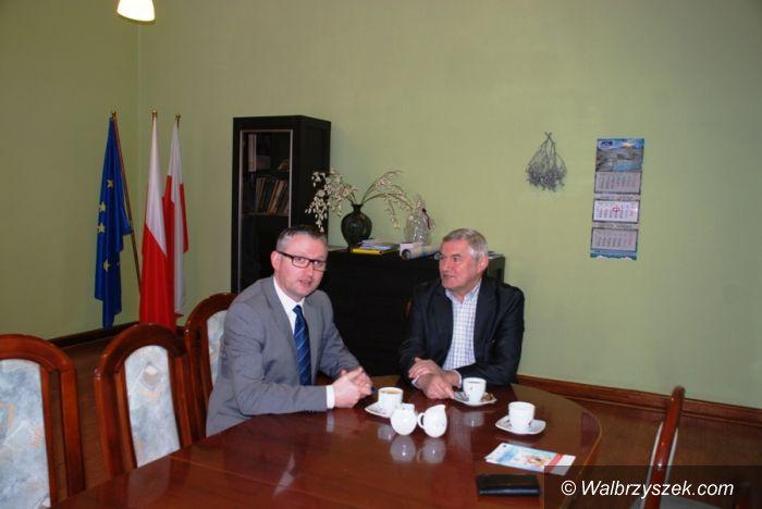 REGION, Głuszyca: Burmistrz Głód spotkał się z senatorem Kilianem