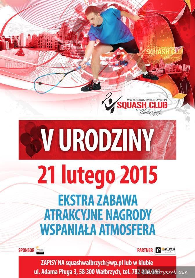 Wałbrzych: Zbliżają się urodziny Squash Clubu
