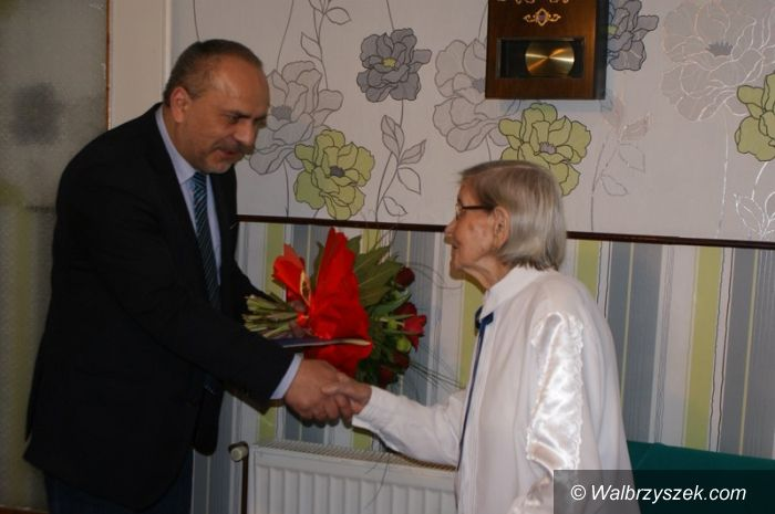 REGION, Chwaliszów: 105. urodziny mieszkanki Chwaliszowa