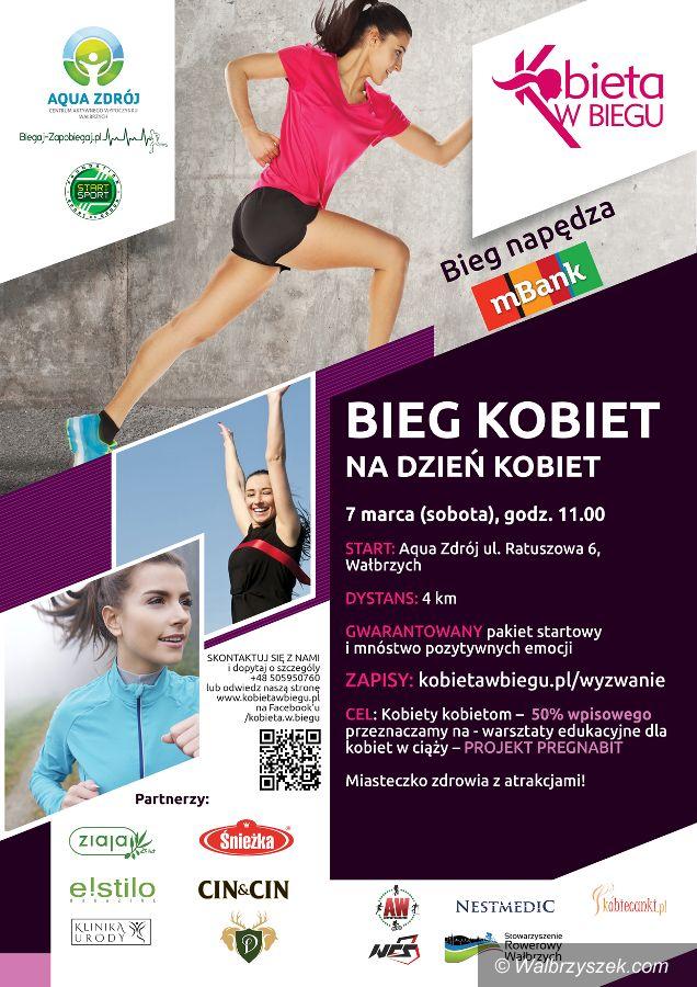Wałbrzych: Bieg Kobiet już w sobotę