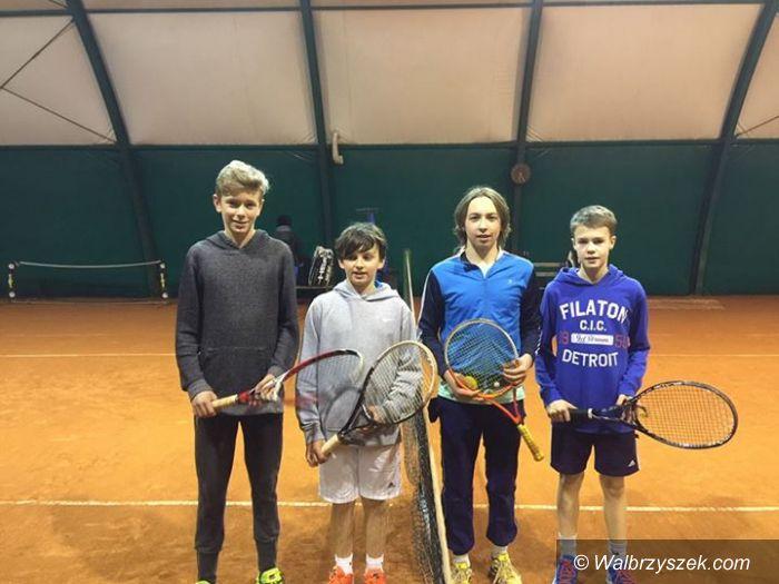 Szczawno Zdrój: Młodzi tenisiści walczyli na szczawieńskich kortach