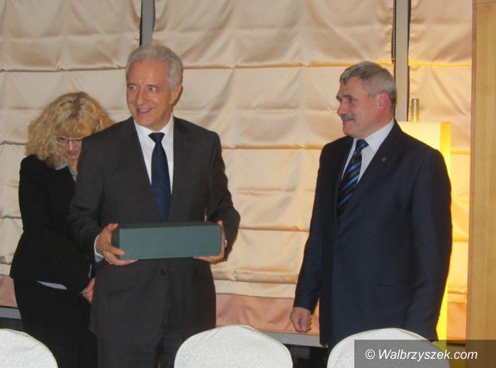 REGION: Wicemarszałek Kosiór spotkał się z Premierem Wolnego Państwa Saksonia