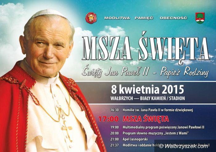 Wałbrzych: Msza Święta na stadionie – 8 kwietnia