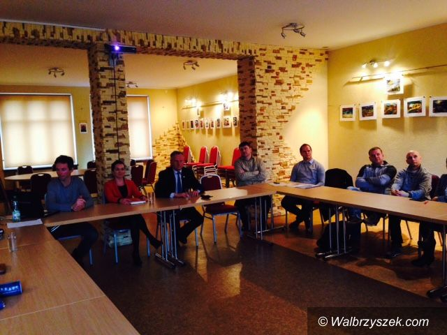 REGION, Jedlina Zdrój: Burmistrz spotkał się z przedstawicielami klubów sportowych