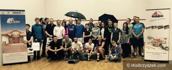 Wałbrzych: Kolejne zawody w wałbrzyskim klubie squasha