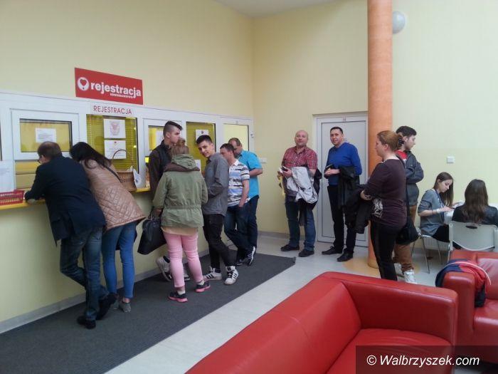 Wałbrzych: Akcja honorowego krwiodawstwa w wałbrzyskim Hufcu Pracy