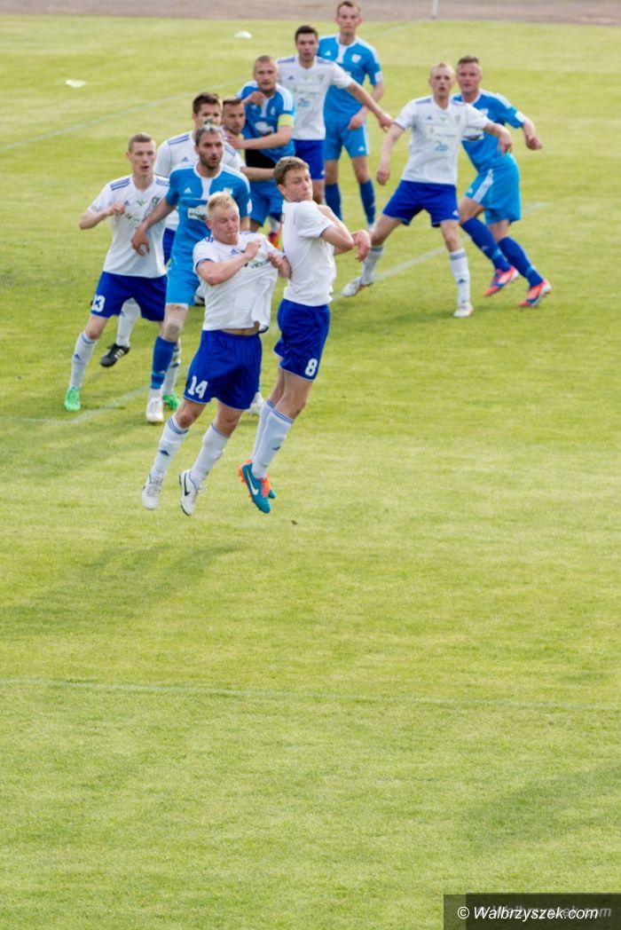 Wałbrzych: II liga piłkarska: Kluczowe zwycięstwo