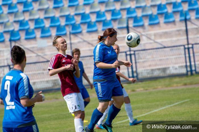 Wałbrzych: I liga piłki nożnej kobiet: Przypieczętowany awans