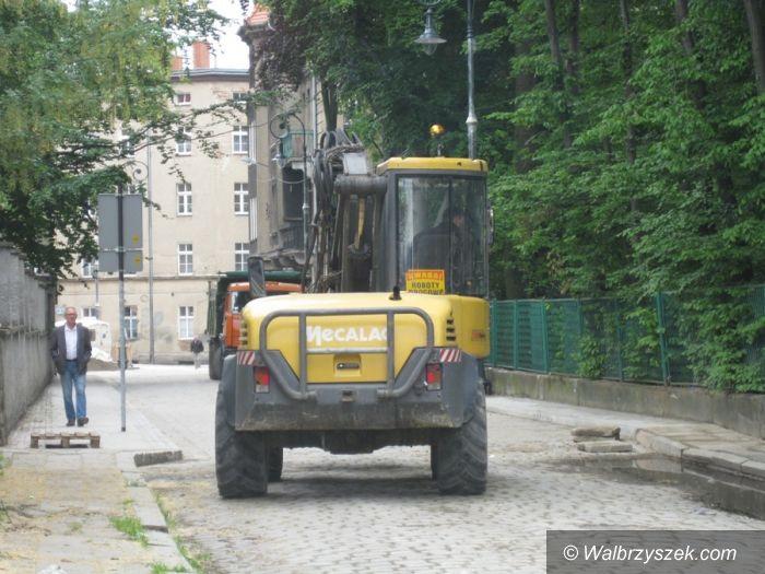Wałbrzych: Ulice Straży Pożarnej i Kościelnej wyremontowane