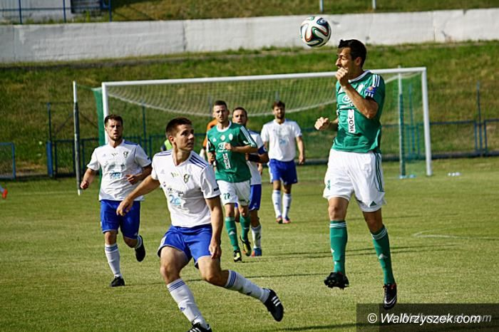 Wałbrzych: Piłkarski Puchar Polski: Na początek z Okocimskim