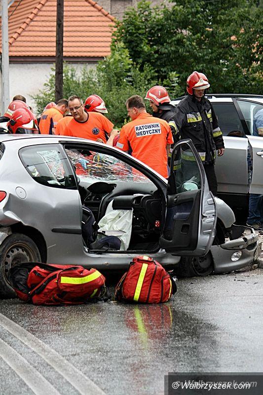 REGION, Jedlina-Zdrój: Wypadek w Jedlinie–Zdroju