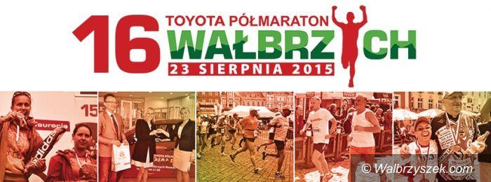 Wałbrzych: Już prawie 1500 biegaczy na listach Półmaratonu Wałbrzyskiego