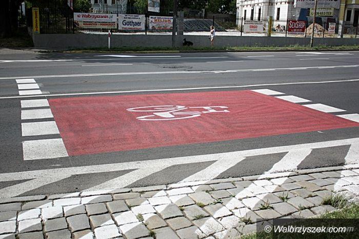 Wałbrzych: Śluza dla rowerzystów