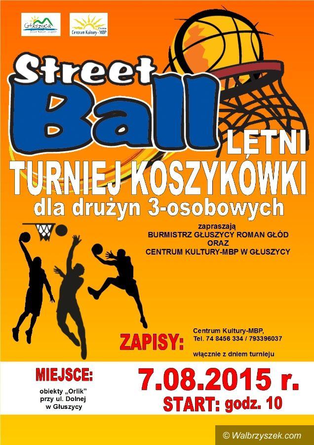 Głuszyca: Letni turniej koszykówki