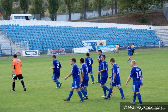 Wałbrzych: III liga piłkarska: U siebie to inna drużyna