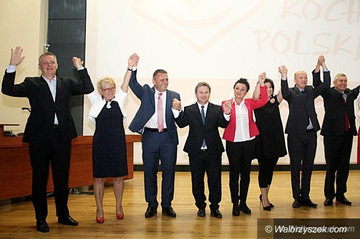 Wałbrzych: Konwencja wyborcza PO