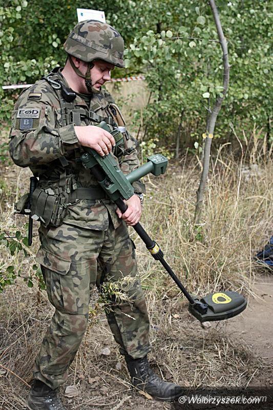 Wałbrzych: Wojsko zakończyło sprawdzanie terenu w Wałbrzychu