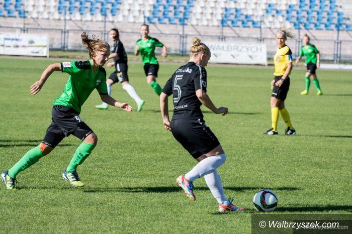 Wałbrzych: Ekstraliga piłki nożnej kobiet: Wygrana AZS PWSZ Wałbrzych