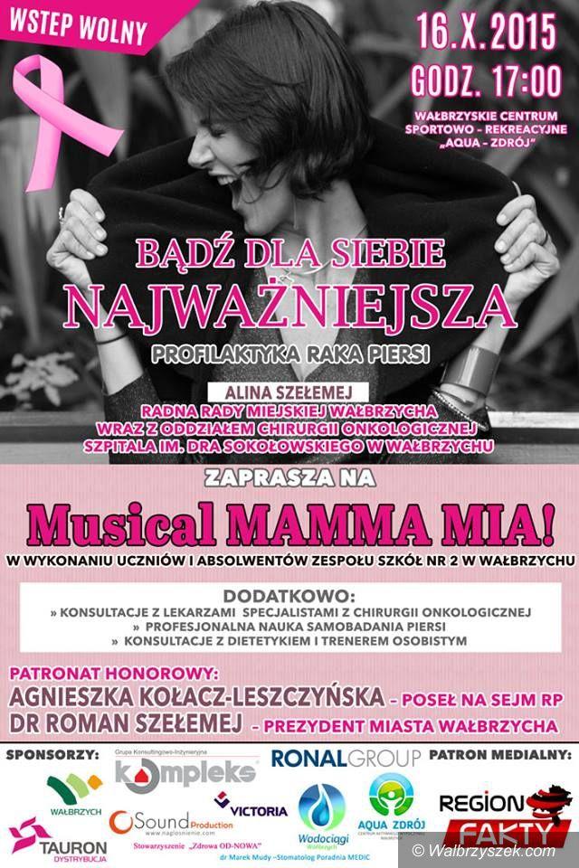 """Wałbrzych: VII edycja Różowej Wstążki w rytmie """"Mamma Mia"""""""