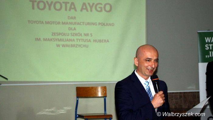 """Wałbrzych: """"Mechanik"""" najlepszym ambasadorem Toyoty"""