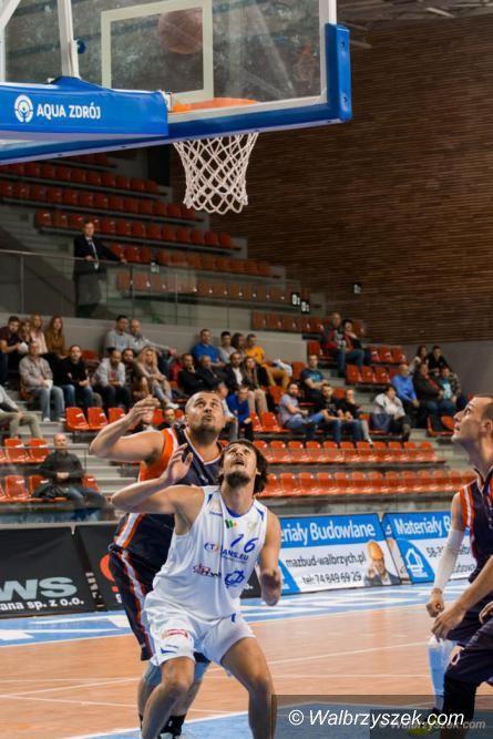 Wałbrzych: II liga koszykówki: Wygrana po zespołowej grze