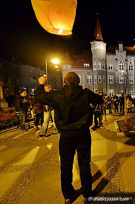 Wałbrzych: Lampiony Pamięci w Wałbrzychu