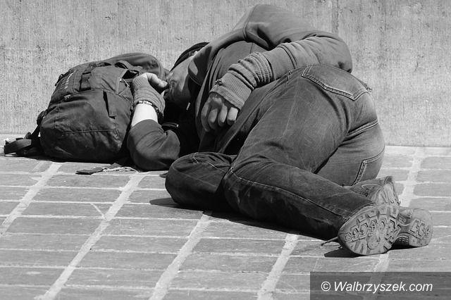 Wałbrzych: Śmierć bezdomnego