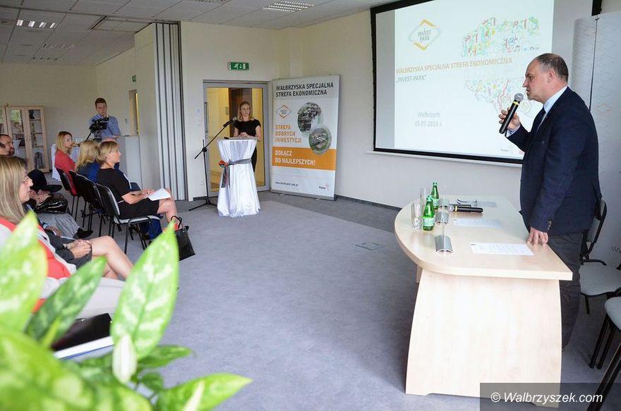 Wałbrzych: Przedstawiciele firm z regionu spotkali się w WSSE