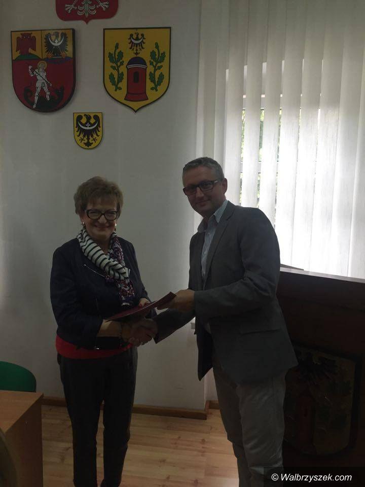 """REGION, Głuszyca: Wsparcie dla Głuszycy z """"Odnowy Dolnośląskiej Wsi"""""""
