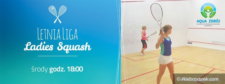 Wałbrzych: Zagraj w squasha