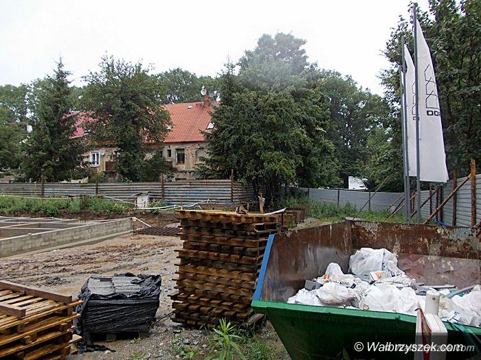 Wałbrzych: Trwa budowa nowego komisariatu
