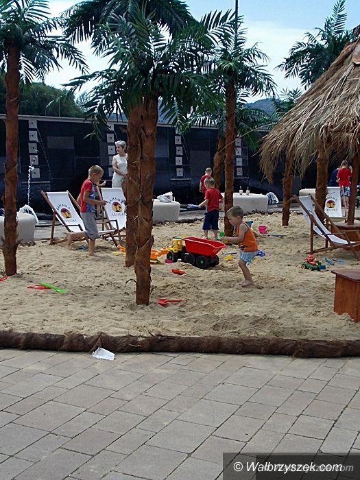 Wałbrzych: Wakacyjna plaża w Victorii