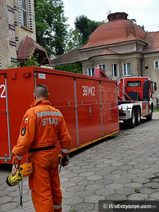 Szczawno-Zdrój: Strażacy ćwiczyli w Szczawnie–Zdroju