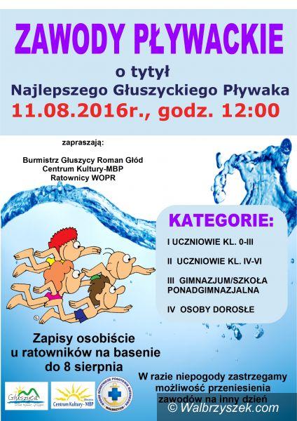 Głuszyca: Zawody pływackie w Głuszycy