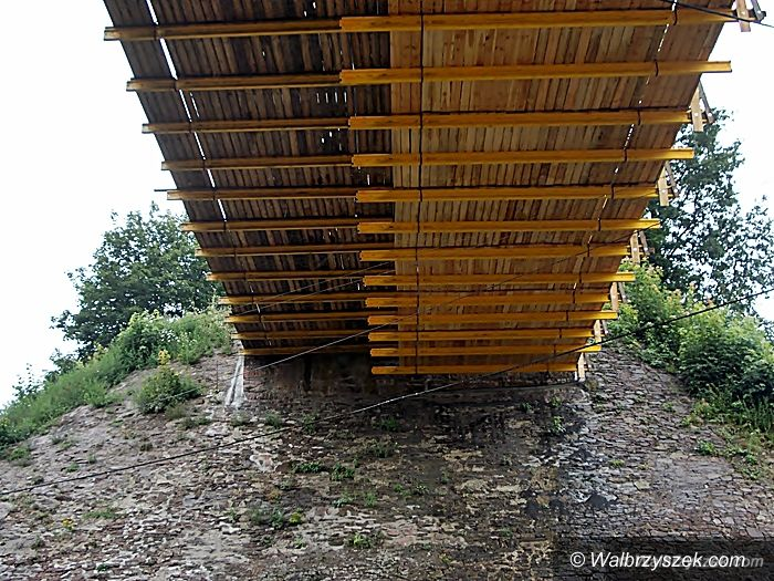 REGION, Głuszyca: Remontują wiadukt w Głuszycy Górnej