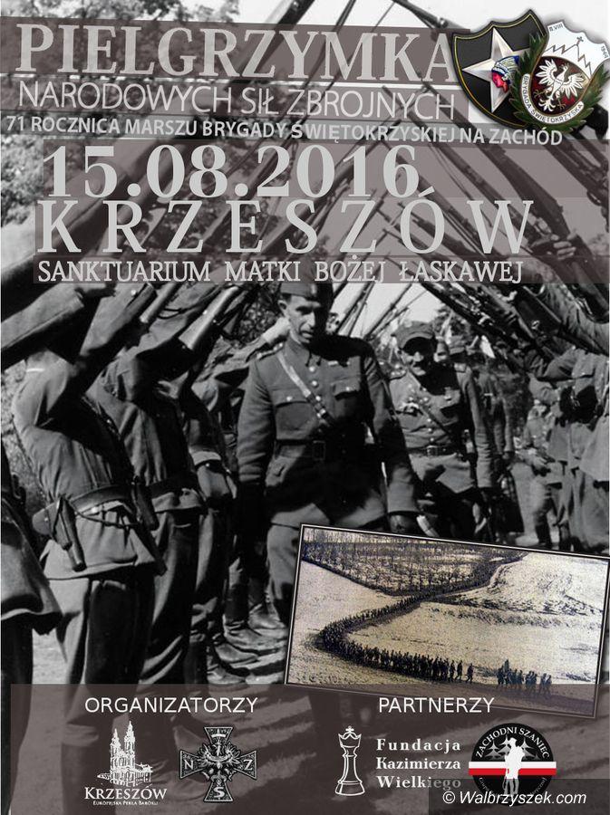 REGION, Krzeszów: Upamiętnią przemarsz Brygady Świętokrzyskiej