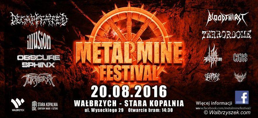 Wałbrzych: Metalowa muzyka opanuje Wałbrzych