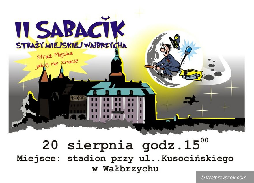 Wałbrzych: II Sabacik Straży Miejskiej
