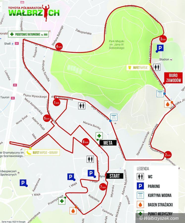 Wałbrzych: Odliczamy godziny do XVII Toyota Półmaraton Wałbrzych