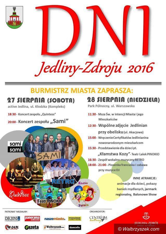 REGION, Jedlina-Zdrój: Dni Jedliny–Zdroju na zakończenie lata