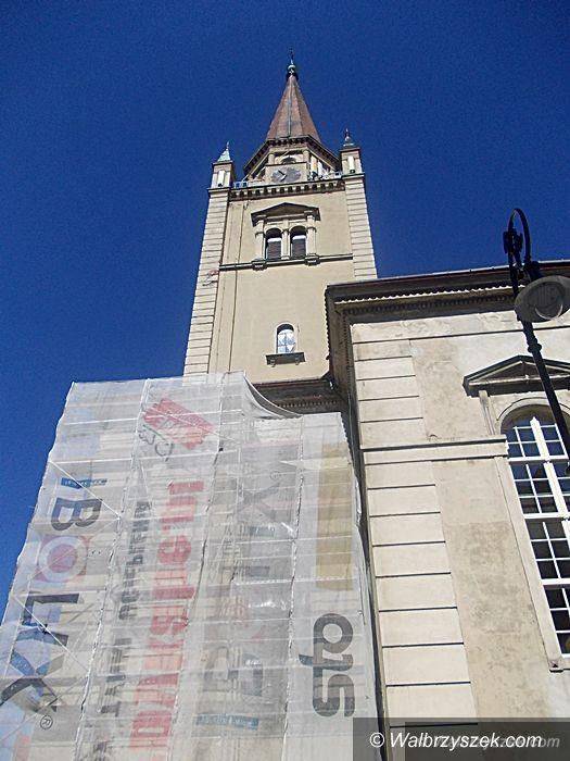 Wałbrzych: Kościół Zbawiciela będzie miał nową elewację