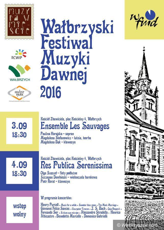 Wałbrzych: Muzyka dawna w kościele Zbawiciela w Wałbrzychu