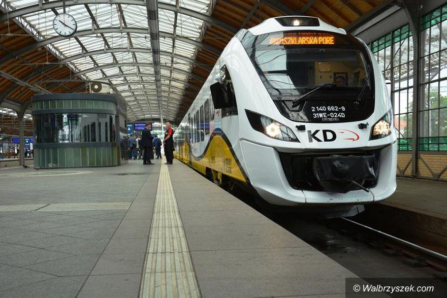 REGION: Koleje Dolnośląskie wprowadzają nowy rozkład jazdy