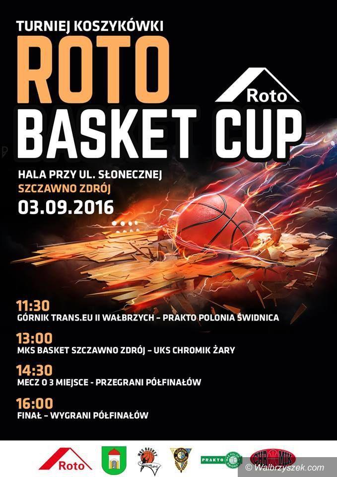 Szczawno-Zdrój: Koszykarze zagrają w Szczawnie Zdroju