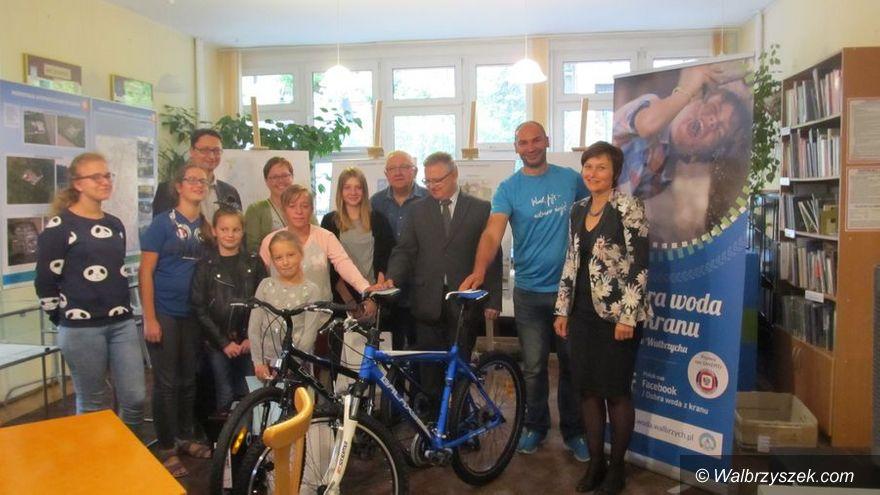 REGION, Szczawno-Zdrój: Z wodą po… rower w uzdrowisku
