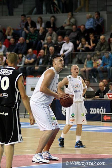 Wałbrzych: Koszykarze Górnika wyszli na remis w sparingach z Nysą