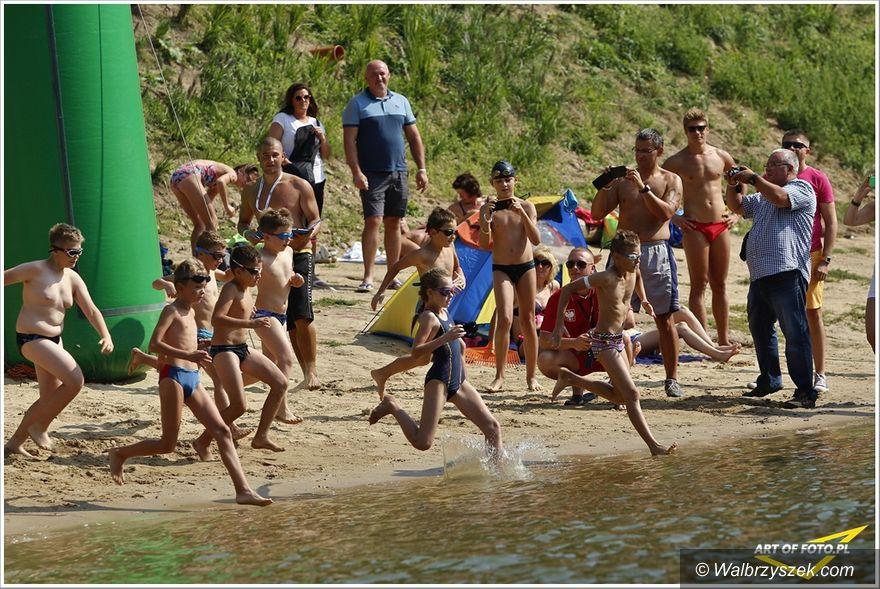 REGION, Zagórze Śląskie: Za nami pływackie zawody na wodach otwartych