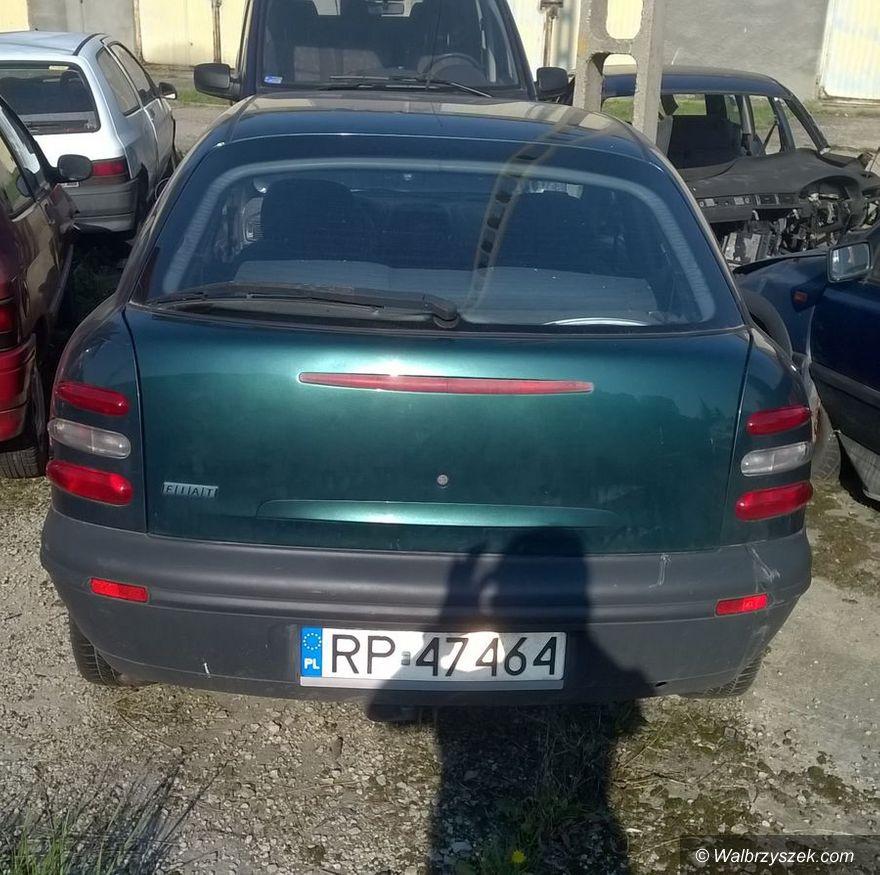 Wałbrzych: Policja poszukuje właściciela pojazdu