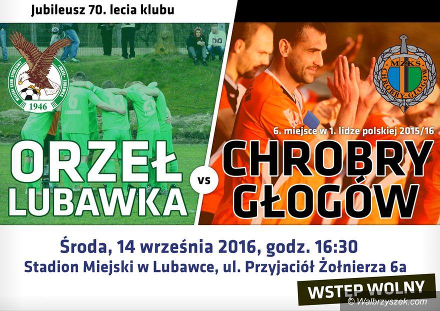 Lubawka: Piłkarze Chrobrego Głogów w naszym regionie