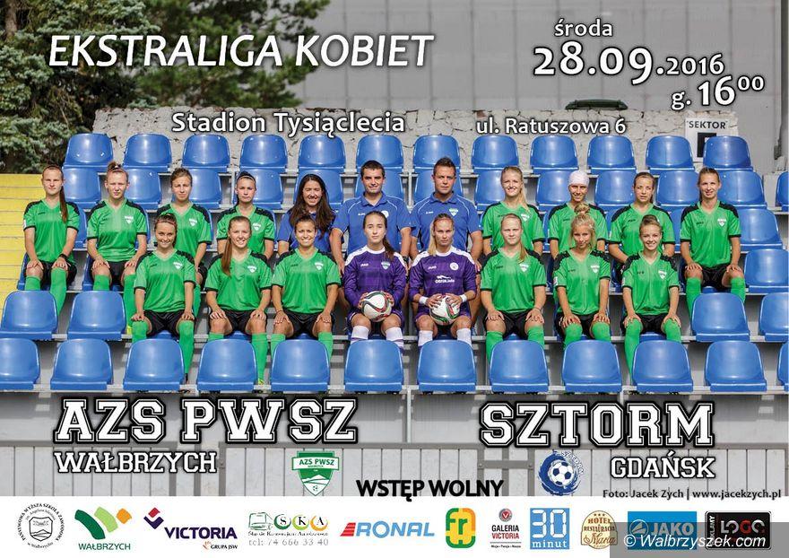 Wałbrzych: Ekstraliga piłkarska kobiet: Przetrwać Sztorm